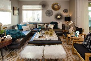 Newport Beach Interior Design – Boho Chic