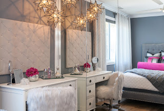 Corona del mar Interior Designer     SKD Studios creates a fun teen girl bedroom